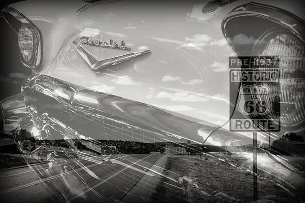 Photograph - Cruisin Route 66 by Patricia Montgomery