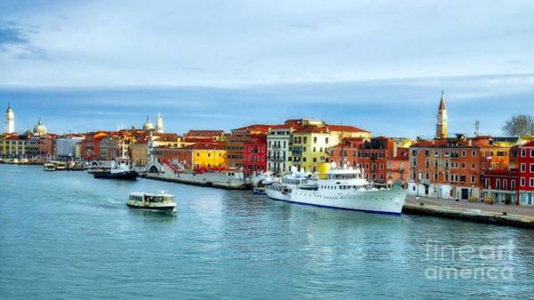 Photograph - Cruising Into Venice # 2 by Mel Steinhauer