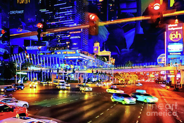 Photograph - Cruising On The Strip by Tatiana Travelways