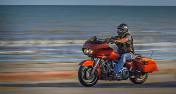 Photograph - Cruising The Seawall by James Woody
