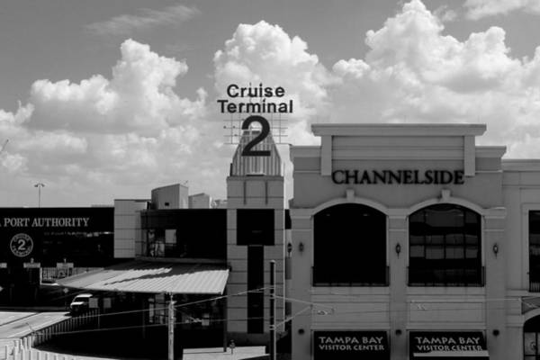 Port Of Tampa Wall Art - Photograph - Cruse Terminal 2 Long View by Robert Wilder Jr