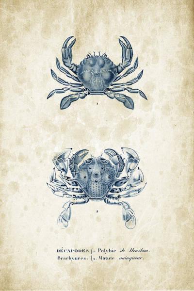 Wall Art - Digital Art - Crustaceans - 1825 - 05 by Aged Pixel
