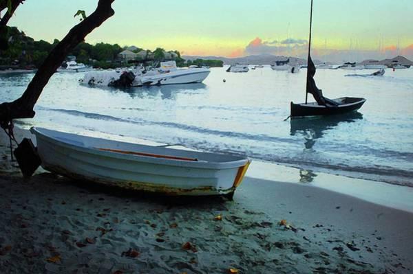 Digital Art - Cruz Bay Morning by Michael Thomas