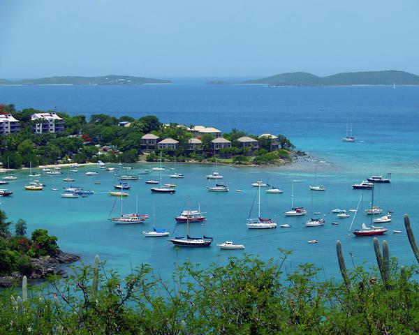 Photograph - Cruz Bay 1 by Pauline Walsh Jacobson