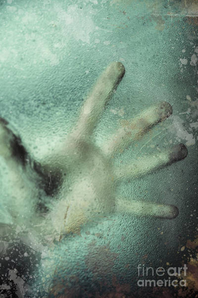 Frosted Glass Photograph - Cryonics Awakening by Jorgo Photography - Wall Art Gallery