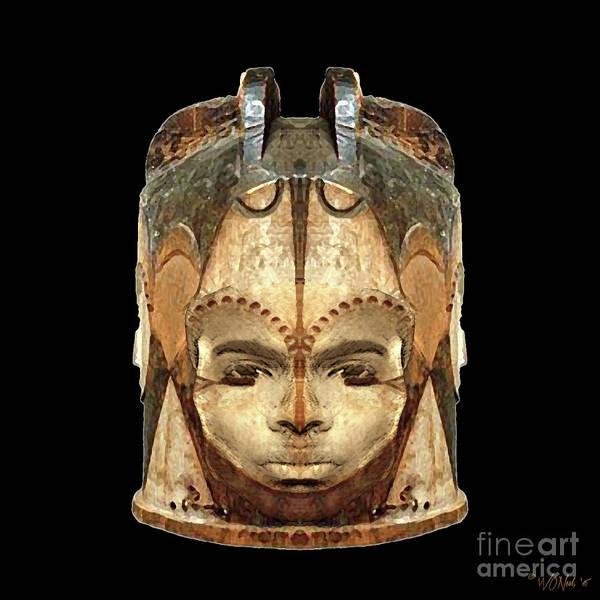 Gabon Digital Art - Fang Ngontang by Walter Neal