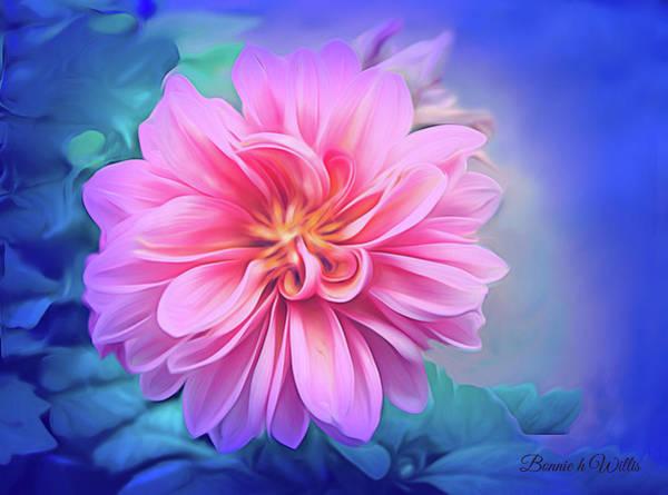 Digital Art - Crysanthemum Delight by Bonnie Willis