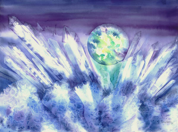 Painting - Crystal Awakening by Tara Moorman