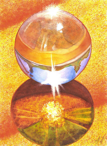 Painting - Crystal Ball by Catherine G McElroy
