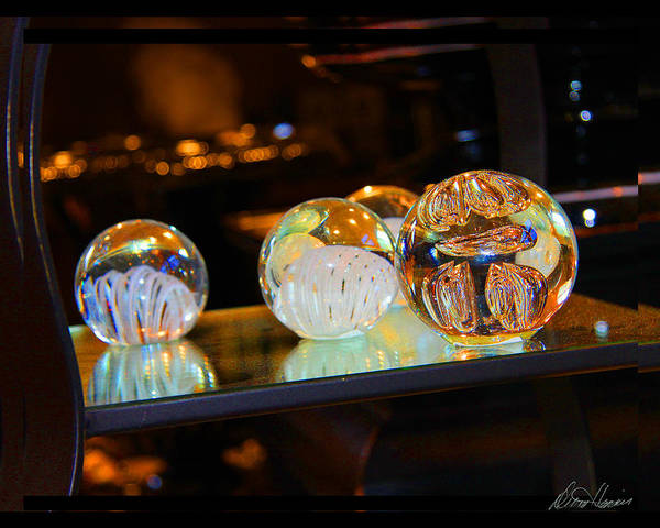 Photograph - Crystal Balls by Diana Haronis