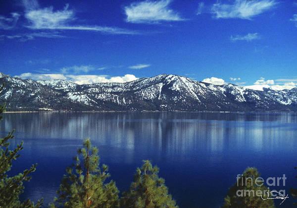 Wall Art - Photograph - Crystal Bay Reflections  Lake Tahoe by Vance Fox