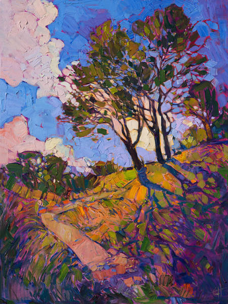 Wall Art - Painting - Crystal Clouds by Erin Hanson