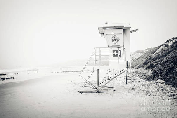 Crystal Coast Photograph - Crystal Cove Lifeguard Tower 11 In Laguna Beach by Paul Velgos