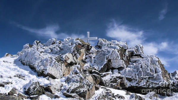 Swiss Alps Wall Art - Photograph - Crystal Cross by DiFigiano Photography