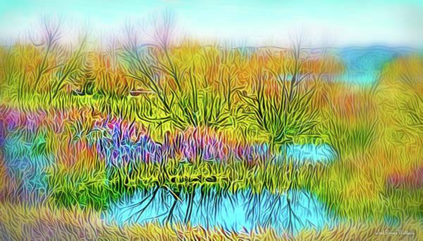 Digital Art - Crystal Lake Day by Joel Bruce Wallach