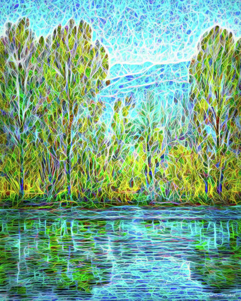Digital Art - Crystal Lake Enchantment by Joel Bruce Wallach