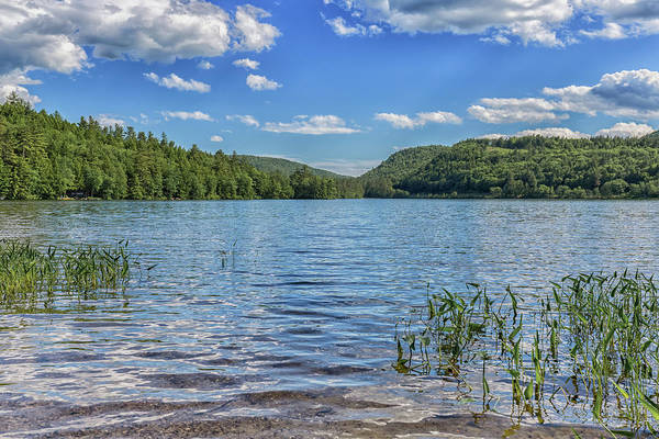 Photograph - Crystal Lake In Eaton New Hampshire by Brian MacLean