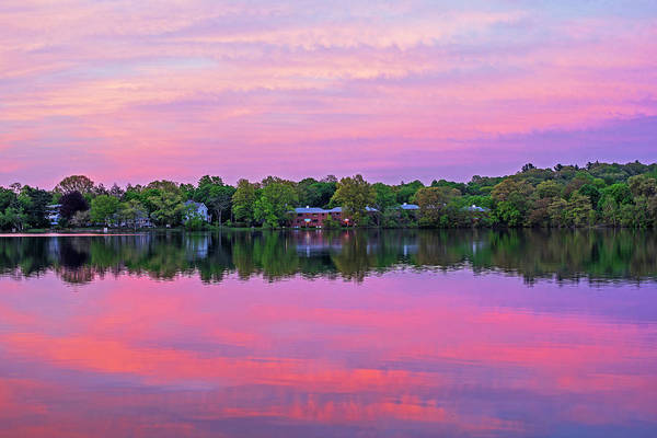 Photograph - Crystal Lake Sunset Newton Ma by Toby McGuire
