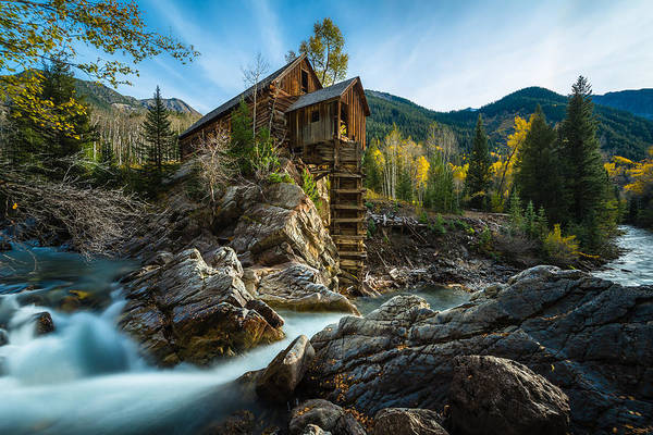 Photograph - Crystal Mill by Chuck Jason