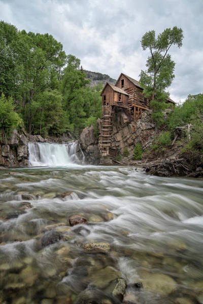 Photograph - Crystal Mill Colorado 2 by Angela Moyer