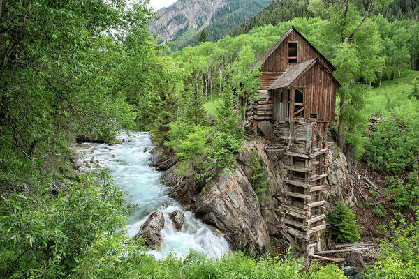 Photograph - Crystal Mill Colorado 3 by Angela Moyer