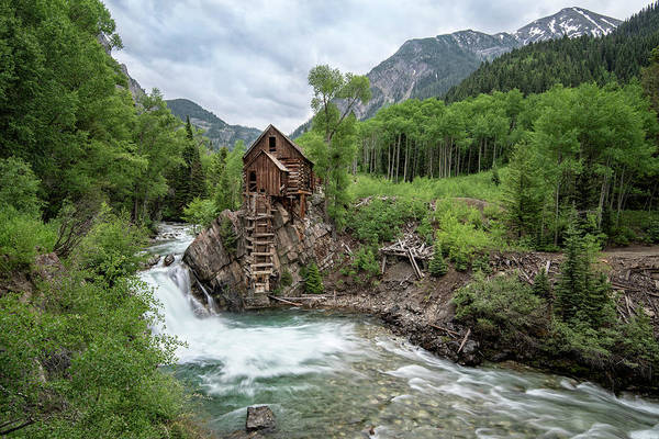 Photograph - Crystal Mill Colorado 4 by Angela Moyer