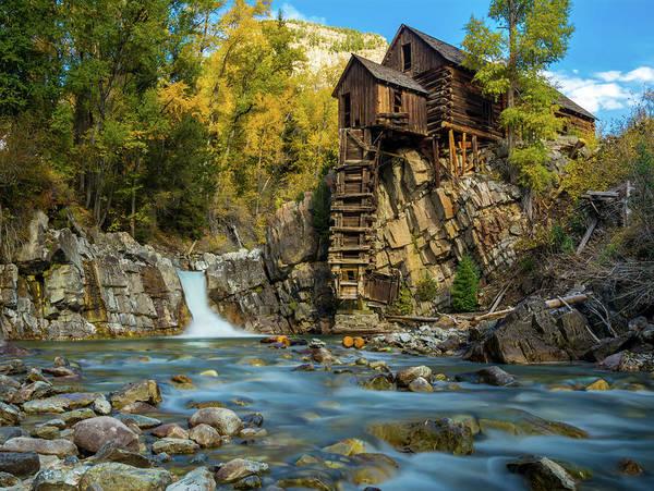 Photograph - Crystal Mill by Gary Kochel