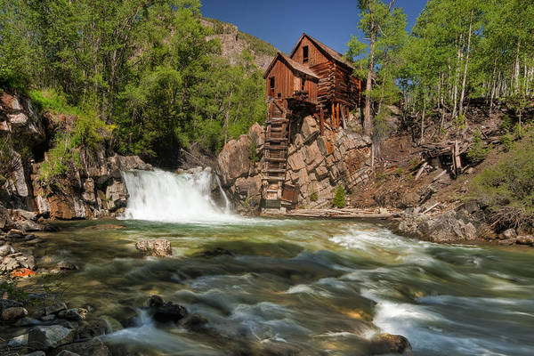 Crystal Mill II Art Print