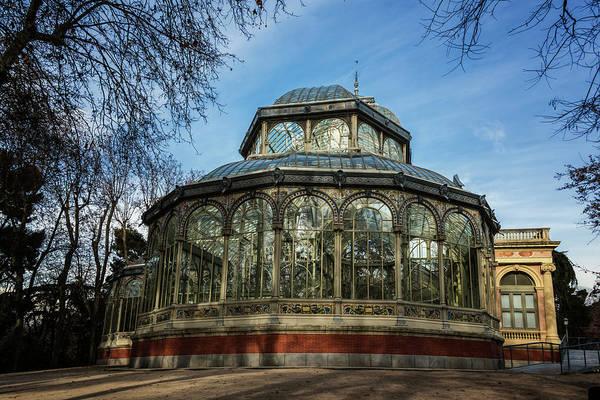 Photograph - Crystal Palace Madrid by Joan Carroll