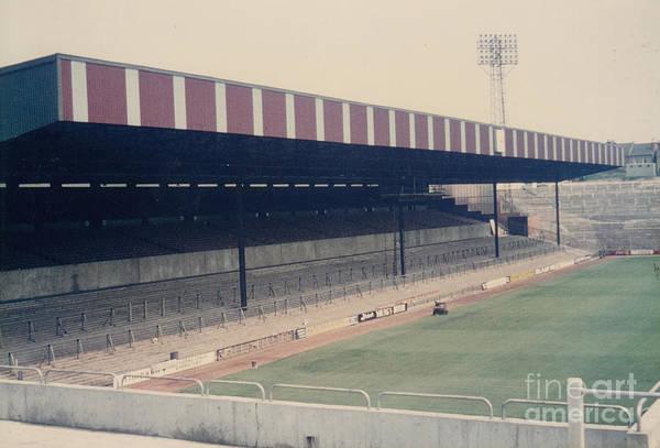 Wall Art - Photograph - Crystal Palace - Selhurst Park - East Stand Arthur Wait 1 - 1980s by Legendary Football Grounds