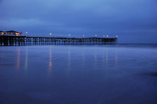 Wall Art - Photograph - Crystal Pier Blue by Kelly Wade