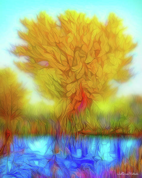 Digital Art - Crystal Pond Dream by Joel Bruce Wallach