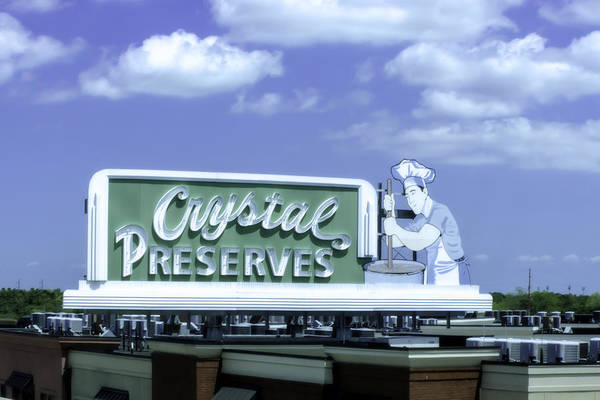 Photograph - Crystal Preserves by Chris Coffee