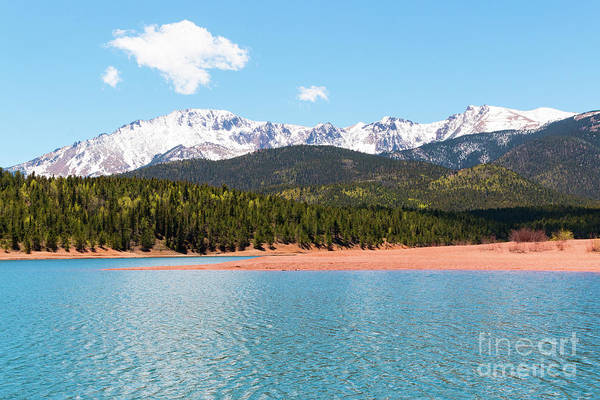 Photograph - Crystal Reservoir And Pikes Peak by Steve Krull