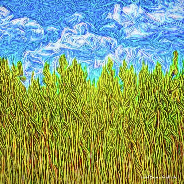 Digital Art - Crystal Skies Ascending by Joel Bruce Wallach