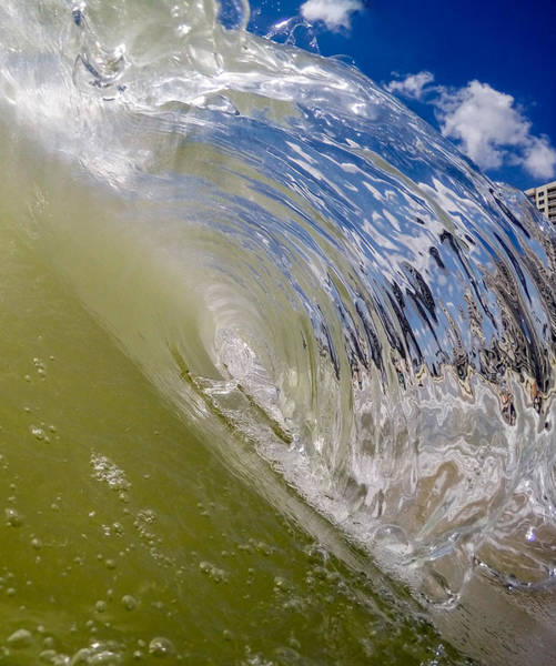 Photograph - Crystal Wave by David Hart