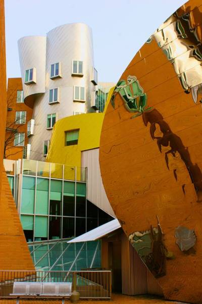 Photograph - Csail Building At Mit by Polly Castor