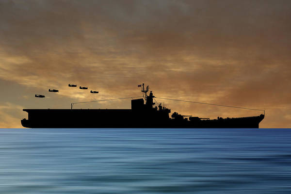 Aircraft Carriers Photograph - Css Kentucky V2 by Smart Aviation