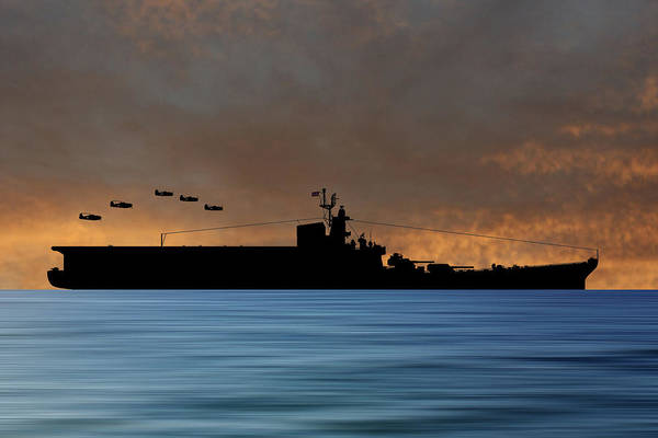 Aircraft Carriers Photograph - Css Kentucky V3 by Smart Aviation