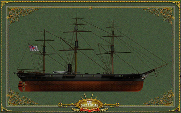 Wall Art - Digital Art - Css Shenandoah by The Collectioner