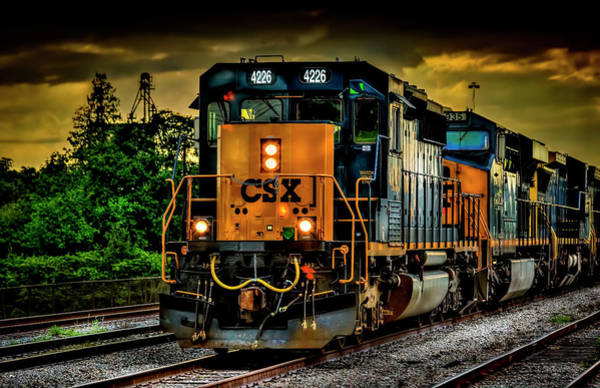Freight Wall Art - Photograph - Csx 4226 by Marvin Spates