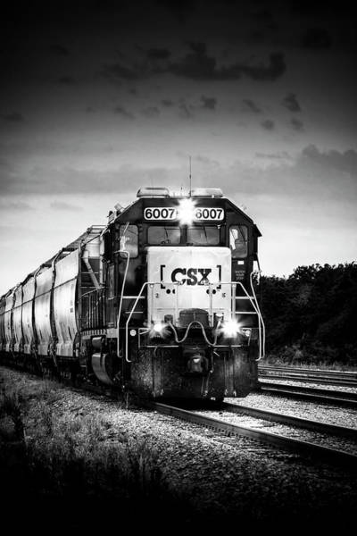 Freight Wall Art - Photograph - Csx 6007 by Marvin Spates