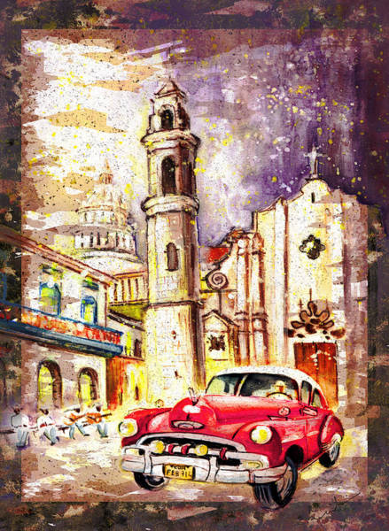 Painting - Cuba Authentic Madness by Miki De Goodaboom