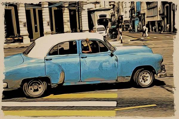 Photograph - Cuba Azules by Alice Gipson