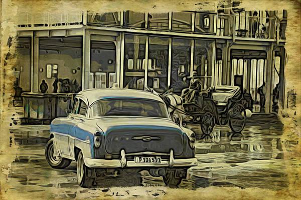 Photograph - Cuba Blue by Alice Gipson