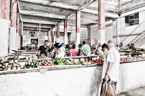 Photograph - Cuba Market by Sharon Popek