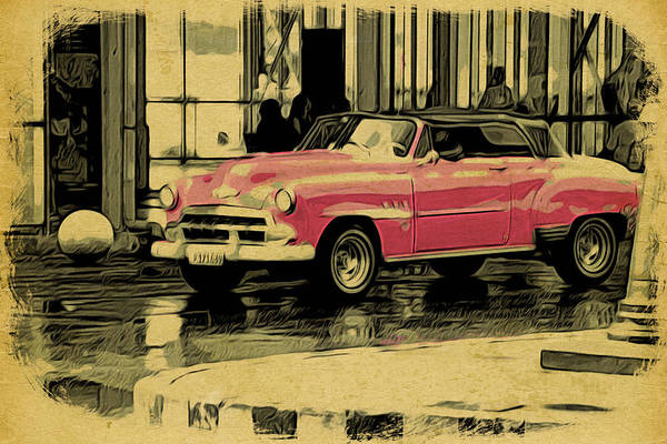 Photograph - Cuba Pink by Alice Gipson