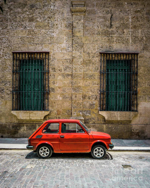 Wall Art - Photograph - Cuba Red by Perry Webster