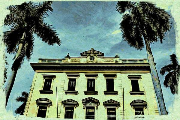 Photograph - Cuba What Once Was Beautiful by Alice Gipson