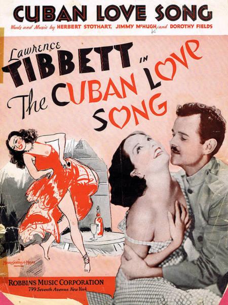 Tin Pan Alley Photograph - Cuban Love Song by Mel Thompson